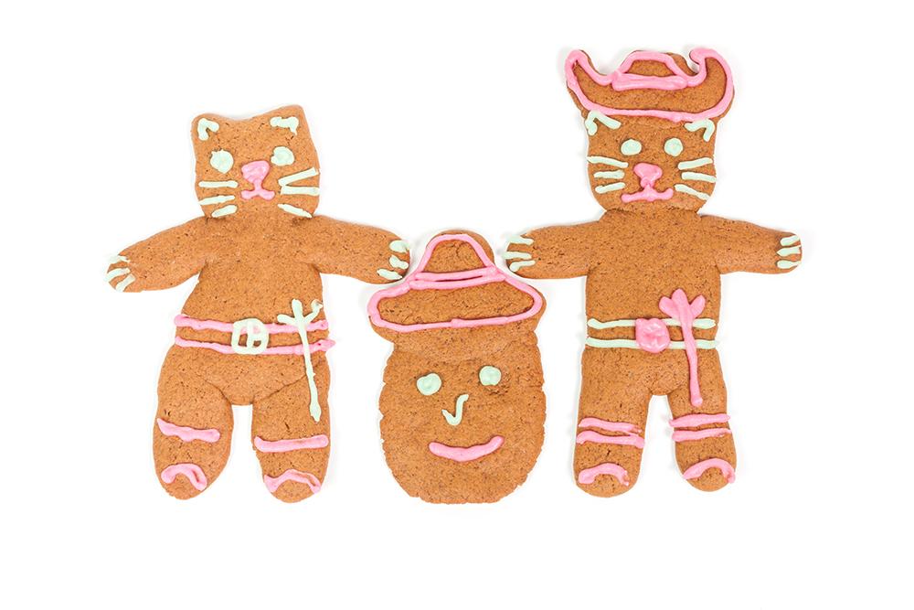 Ciasteczka w kształcie kota